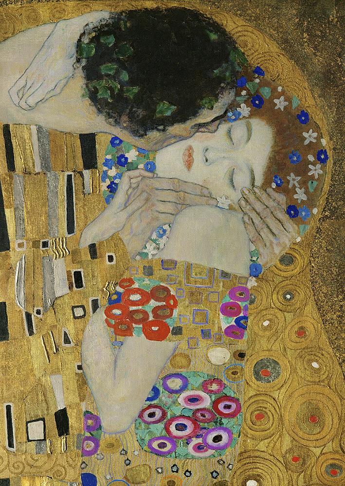 Gustav Klimt - Poljubac - Ulje na platnu 1908