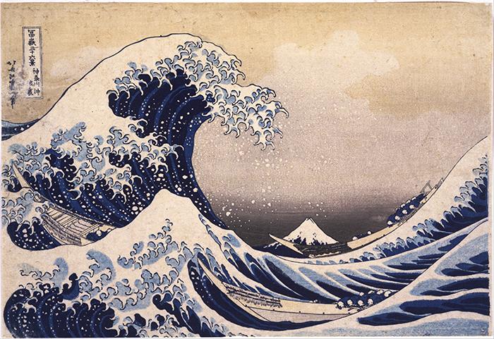 Kacušika Hokusaj - Veliki talas kod Kanagave 1829–1833
