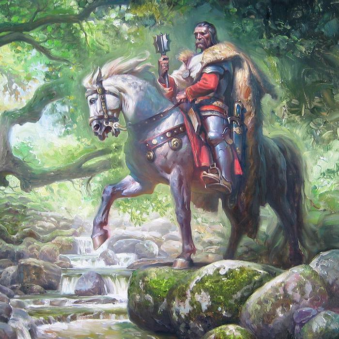 Kraljević Marko i Vila petarmeseldzija
