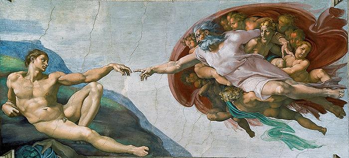 The Creation of Adam - Michelangelo 1512