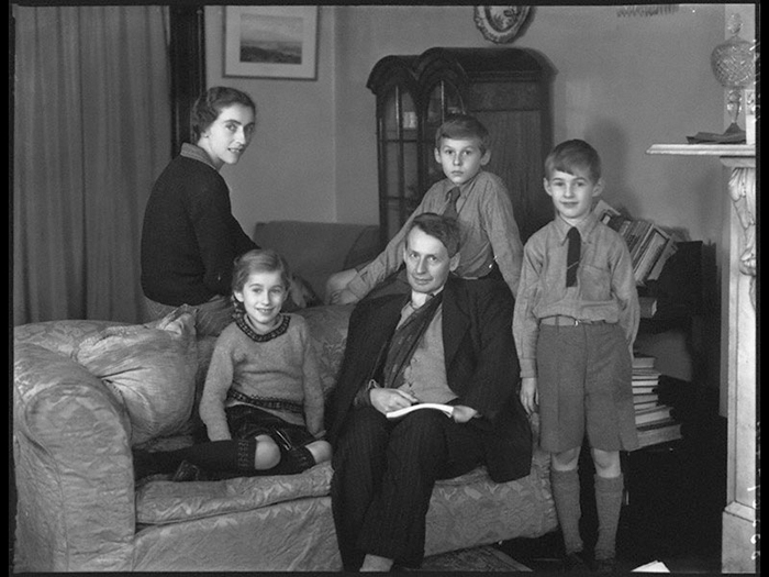 NPG x37175; The Thomson family by Bassano